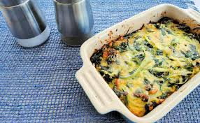 cuisin courgette courgette and spinach tian recipe cuisine fiend