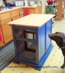 Make A Kitchen Island Make The Best Of Things Nightstands Turned Kitchen Island Really