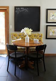 kitchen breakfast nook a new pair of chairs found pepper design