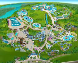 Busch Gardens Map Portfolio Dan Ford Illustration