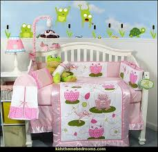 Frog Crib Bedding Decorating Theme Bedrooms Maries Manor Frog Theme Bedrooms