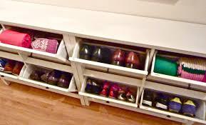 bench mesmerize wood shoe storage bench ottoman cabinet closet