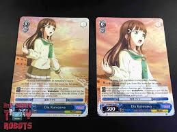 my shiny toy robots game review weiss schwarz love live