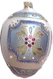 faberge egg ornaments museum collection swans and egg