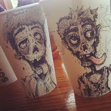 16 coffee cup doodles that are so good you can actually taste them