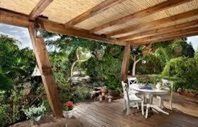 tettoie per terrazze coperture in legno per terrazzi veranda