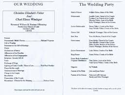 wedding reception program template uncategorizedg reception program template shatterlion info