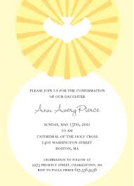 confirmation invitation confirmation invitation confirmation dove printables