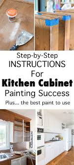 Top  Best Paint Cabinets White Ideas On Pinterest Painting - Do it yourself painting kitchen cabinets