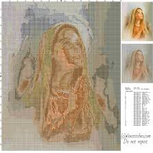 praying religious and free cross stitch pattern free