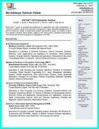Asp Net Resume Sample E Resume Net 30 Free U0026 Beautiful Resume Templates To