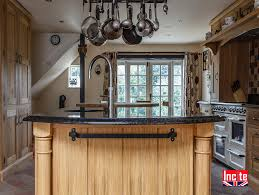oak kitchen island custom handmade by incite in derbyshire