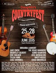 dauphin u0027s countryfest june 28 july 1 2018 canada u0027s longest