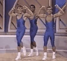 Jazzercise Meme - 1988 crystal light national aerobic chionship know your meme