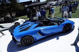 lamborghini aventador superveloce roadster revealed pictures