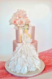 best 25 wedding dress cake ideas on pinterest dress cake