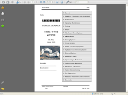 liebherr diesel engines d934 a6 d936 a6 service manual repair