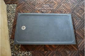 63 x36 granite shower base gray for bathroom omaha