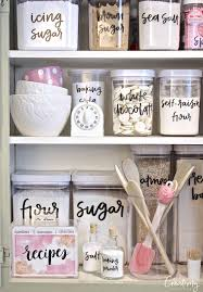Kitchen Shelf Organization Ideas Best 25 Baking Organization Ideas On Pinterest Baking Storage