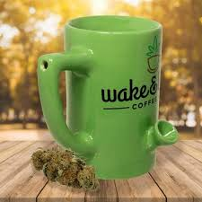 and bake mug leafy green and bake mug in stoner gifts
