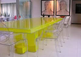 dining tables archives custom contemporary furniture lighting eps powder filled acrylic dining table