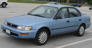 toyota corolla sedan 1993 1993 toyota corolla strongauto