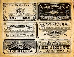 vintage halloween witch illistrations transparent background potion bottle labels halloween witch labels poison labels vintage