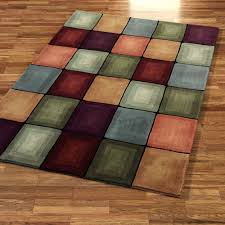 Wool Modern Rugs Contemporary Multi Color Living Room Modern Rug Design Colorful