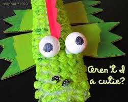 bubble wrap crocodile kids u0027 craft