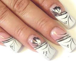 classy fake nail designs nails pinterest white acrylic nails