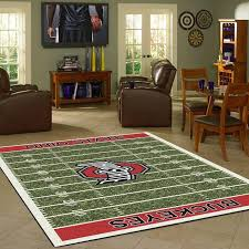 Ohio State Runner Rug Ohio State Fan Cave Rugs