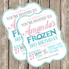 homemade frozen birthday invitations alanarasbach com