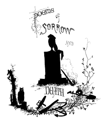 Halloween Poems Antique Silhouette Poems Of Death Halloween The Graphics Fairy