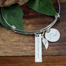 personalized remembrance jewelry until we meet again bracelet personalized memorial bracelet