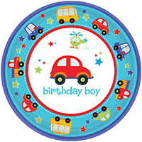 1st birthday boy boys party supplies at birthday in a box