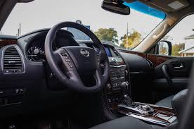 nissan armada platinum interior review 2017 nissan armada platinum canadian auto review