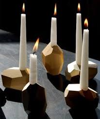 white wooden candle holders foter