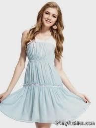 light blue casual dresses for teenagers 2016 2017 b2b fashion