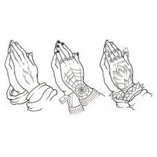 finding the right tattoo design cross with praying hands tat