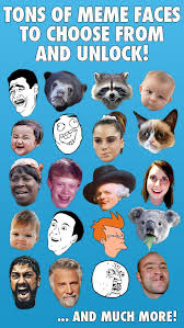 Funny Meme Faces Pictures - meme photo booth comic face stickers and funny memes app for ios