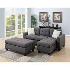 microfiber sectional with ottoman sectional sofa with ottoman wayfair