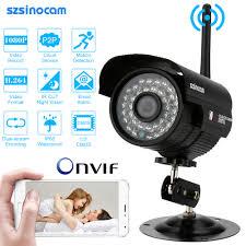 Szsinocam Hd 2 0mp Wireless 1080p Wifi Ip Camera Outdoor P2p Onvif