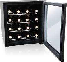 haier mini fridge with glass door amazon com culinair aw162s thermoelectric 16 bottle wine cooler