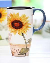 Coffee Mugs Design Bright Sunflower Coffee Mug Gifts