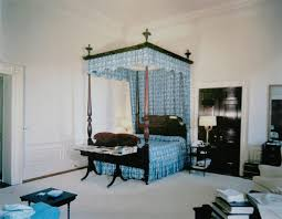 white house bedroom jfk s bedroom in 1962 with the four poster bed used by other