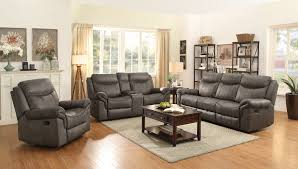 Microfiber Recliner Sofa by Reclining Sofas