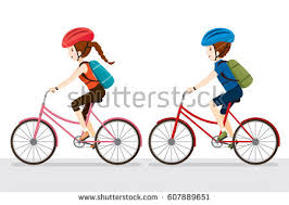 Blind Man Rides Bike Cartoon Biker Stock Images Royalty Free Images U0026 Vectors