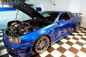 nissan r34 fast and furious paul walker u0027s fast u0026 furious r34 nissan skyline gt r engine