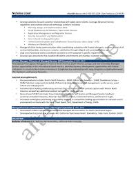 Resume Samples Higher Education Administration by