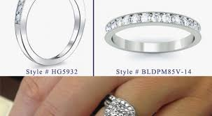 best wedding bands best wedding band for halo engagement ring archives ajax rings 26